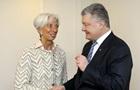 Порошенко встретился с главой МВФ в Давосе