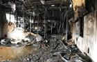 В Харькове произошел крупный пожар на складе