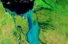 NASA показало паводок в Австралии из космоса