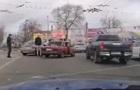 В Николаеве дорожный конфликт перерос в драку