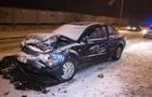 В Киеве столкнулись три авто