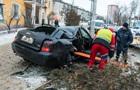 В Киеве  евробляха  влетела на тротуар и сбила пенсионерку