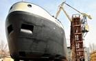В Николаеве спустили на воду 110-метровый корабль