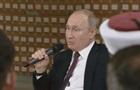 Путін українською мовою нарікнув владі України