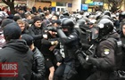 На мітингу Порошенка побилися Нацкорпус і поліція