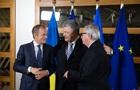 Порошенко проводить переговори з Туском і Юнкером