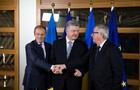 Туск: С Порошенко обсудили приоритеты на пять лет