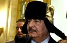 В Ливии выдали ордер на арест маршала Хафтара