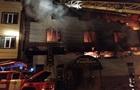 У Харкові згорів банний комплекс, є постраждалі