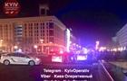У центрі Києва поранили поліцейського і викрали авто