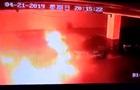 У Китаї на стоянці зняли вибух Tesla