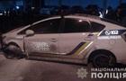 З явилося відео затримання викрадача поліцейського авто