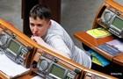 Савченко вернулась на работу в Раду