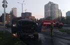 У Києві на ходу загорівся мікроавтобус Газель