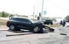 В Днепре лоб в лоб столкнулись два Porsche Cayenne