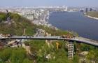 Кличко протестировал стеклянный пол на мосту через Владимирский спуск