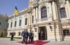 Зеленський приймає глав іноземних делегацій