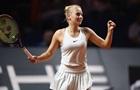 Костюк одержала уверенную победу в первом круге турнира в Страсбурге
