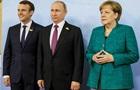 Меркель, Макрон і Путін обговорили реалізацію мінських угод