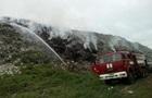 Пожежа в Полтаві: горить міське сміттєзвалище