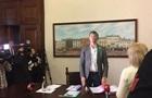 Заместителя мэра Львова облили краской