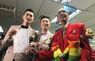 В Тайване прошли первые в истории гей-свадьбы