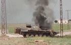 В Сирии журналистов обстреляли из танка