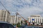 В центре Киева установили эмблему НАТО