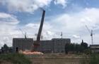 В Харькове подорвали трубу заводской котельной