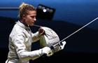 Харлан стала чемпионкой Европы по фехтованию