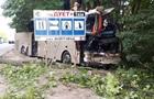В Хмельницкой области автобус Неаполь-Херсон въехал в грузовик
