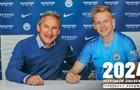 Зинченко продлил контракт с Манчестер Сити на три года
