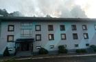 На Закарпатті загорівся готель з вихованцями ДЮСШ