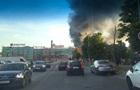 Під Києвом масштабна пожежа на складі секонд-хенду