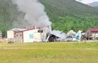 Пассажир снял жесткую посадку АН-24 в России