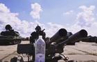 Український боєць відкрив пляшку  зеніткою