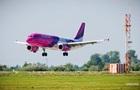 Wizz Air отменил часть рейсов в Киев