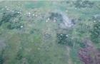 Волонтер показал уничтожение позиций сепаратистов