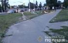 В Харькове авто снесло палатку с агитатором
