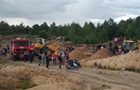 В Ровенской области на песчаном карьере засыпало детей