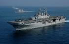 Американский корабль сбил беспилотник Ирана