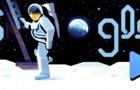 Google создал дудл в честь годовщины высадки на Луну