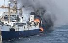 У берегов Африки загорелся украинский корабль, пропал моряк