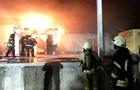 В Запорожье произошел пожар на складе рыбзавода