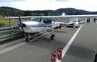 У Хорватії літак здійснив аварійну посадку на трасі