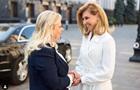 Елена Зеленская рассказала о первом приеме высокой гостьи