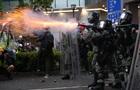 Поліція застосувала зброю на протестах в Гонконзі