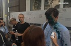 В Харькове напали на ЛГБТ лекцию: экс-нардепа облили зеленкой