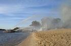 У київському Гідропарку згорів пляжний комплекс