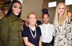 Кидман, Хадид и Харлоу на показе Prada в Милане